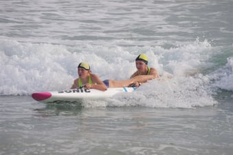Train to be a lifeguard athlete through our junior surf sports program. For 10-14 year olds.